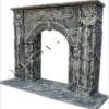 Каминный портал из декоративного бетона