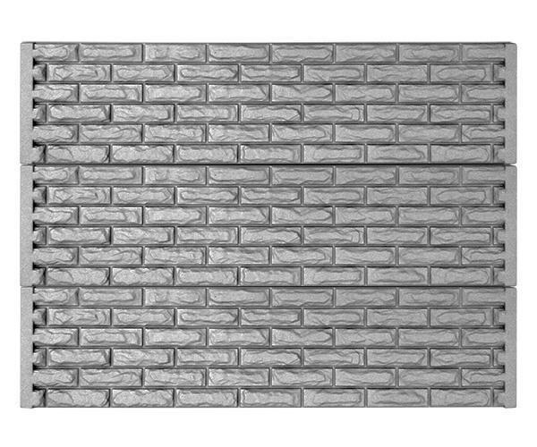 Заборная секция из бетона №59 Фагот-низ