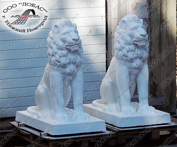 скульптура льва из бетона купить