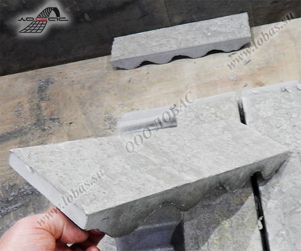 Железобетонный блок лотка плиты перекрытия п3д