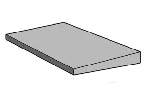 Односкатная парапетная плита, перейти в каталог