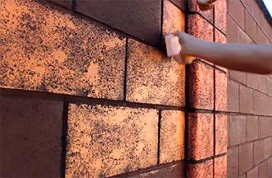 Окрашивание газобетонных стен