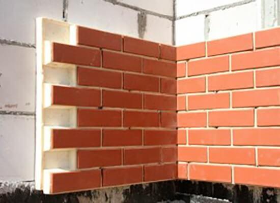 Облицовка газобетонных стен при помощи термопанелей