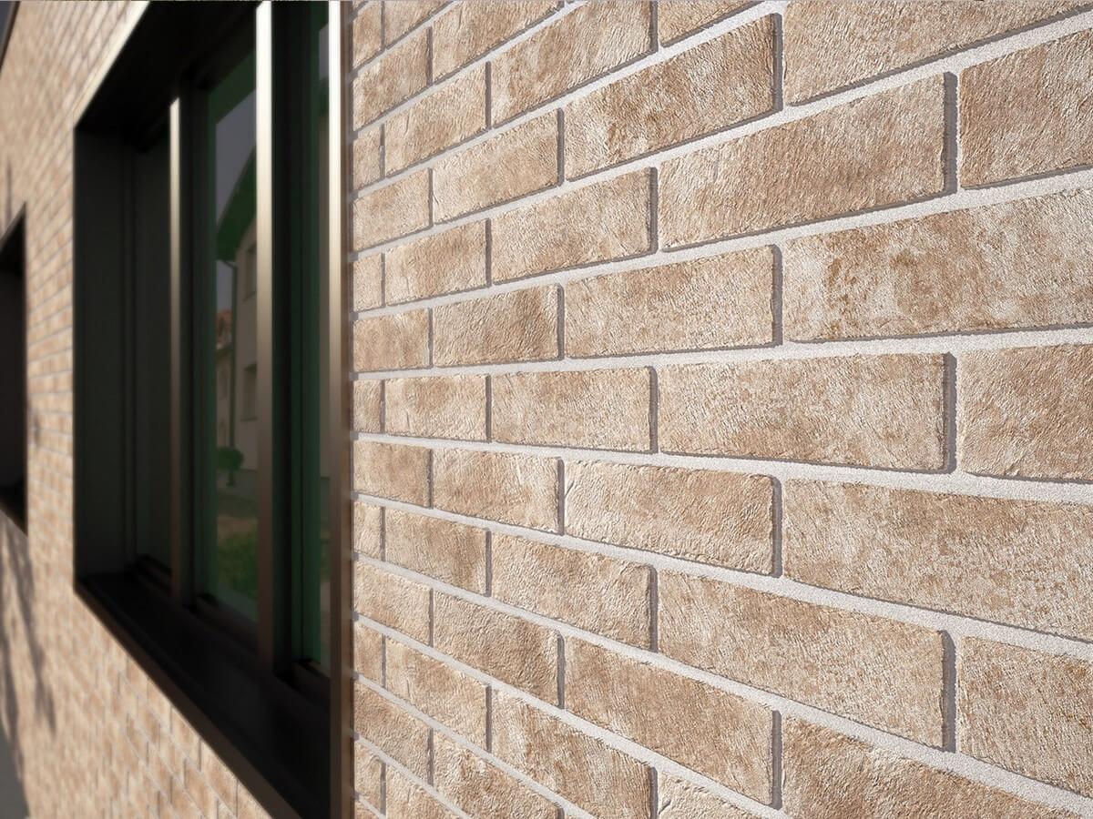 Отделка бани бетонным сайдингом под камень